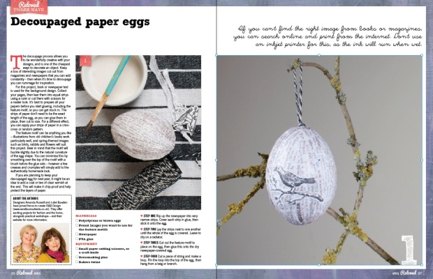 Reloved magazine April issue