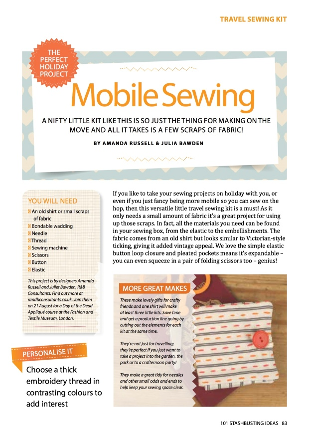Mobile Sewing Kit
